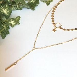 Jewelry - 'Wishful' Choker Lariat Necklace